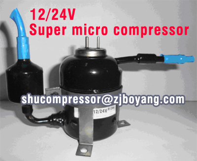 24v Super Micro Mini Compressor For Medical Cooling
