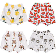 Cotton Baby Boy Girl Baggy Shorts Pants Bloomers Bottoms PP Pants Outfits 1-4Y