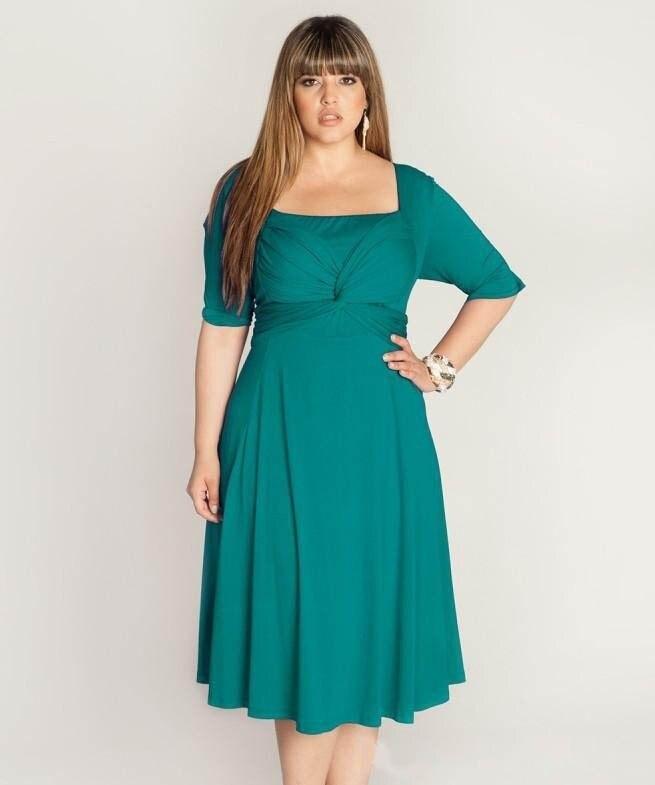 Online Buy Wholesale tea length mother of the bride dresses plus ...