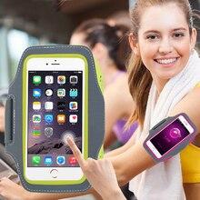 Запуск браслет Спорт для iphone 6 6s 7 8 XiaoMi RedMi 3 3 S Pro 4A 4x 5A samsung S5 S6 S7 крышка чехол нейлон телефон случаях сумка
