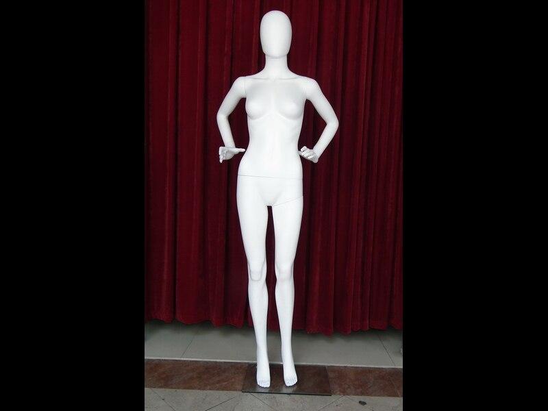 EMP-ZSSF07W matte white plastic mannequin_07