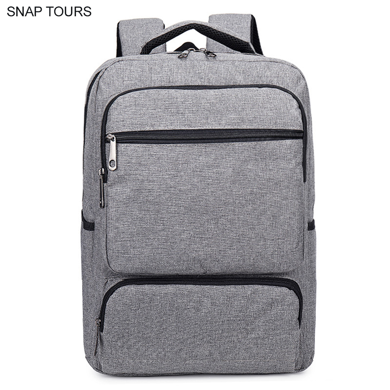SNAP TOURS Oxford Fabric 15.6 Inch Laptop Backpack Men Korean Fashion Casual Notebook Backpack For Teenagers School Bag Rucksack