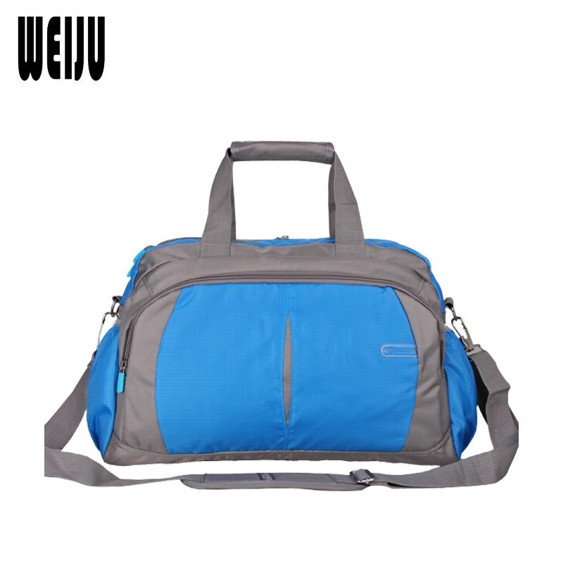 WEIJU Casual Men Women Travel Bag Hand Duffle Bag Large Capacity Handbag Men Travel Bags Shoulder Messenger Bags