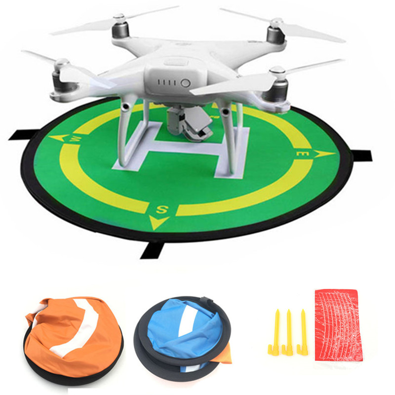 for DJI Mavic Air Pro Platinum Portable Foldable Landing Pad 55CM 75CM 110CM For DJI Mavic pro Phantom 4 pro drone accessories квадрокоптер dji mavic pro platinum combo темно серый