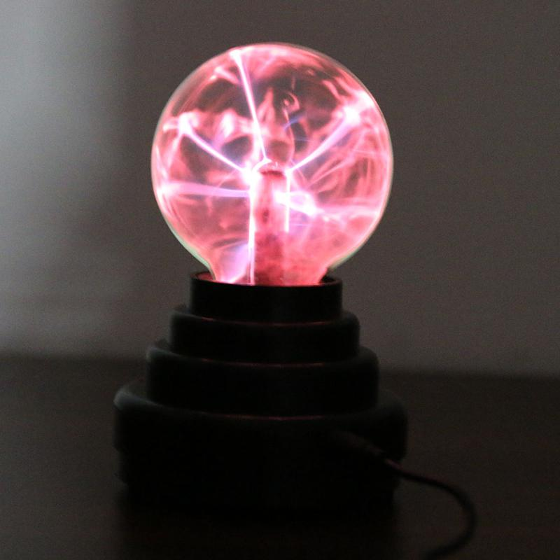 3 Plasma Ball USB Or Battery Powered Electronic Magic Crystal Ball Lamp Romantic Novelty Lighting Kids Gift Christmas Decor