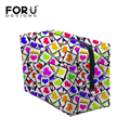 Famous Brand Cosmetic Bag Large Capacity Wash Bag Heart-shaped Print Travel Storage Cosmetic Sorting Bags Female Makeup Cases