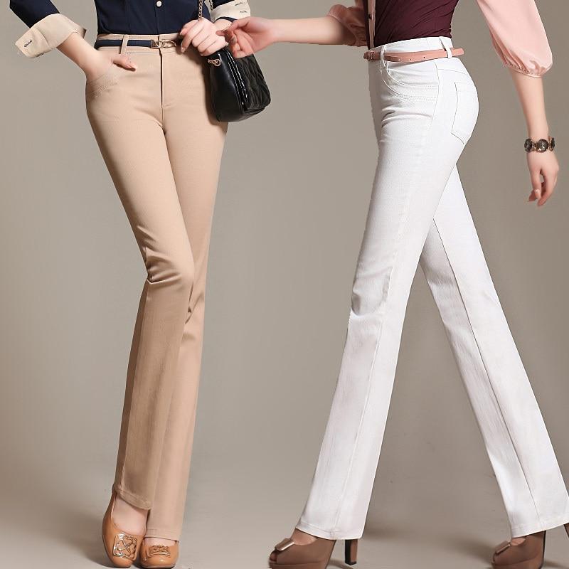 White Cotton Pants For Women   Gpant