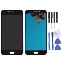 цена на For Samsung Galaxy A8 A8000 A800F AMOLED LCD Display + Touch Screen Digitizer Assembly