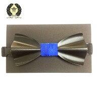 Siyah Ahşap Bow Kravatlar için Mens Düğün Takımları Ahşap Bow Tie Kelebek Şekli Bowknots Gravatas İnce kelebek gravata Cravat