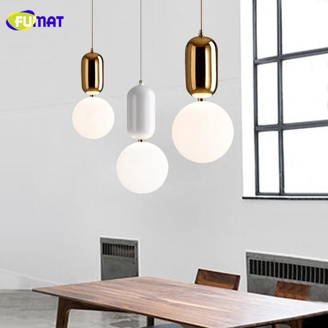Fumat Lámparas colgantes moderna lámpara colgante LED cocina luz ...