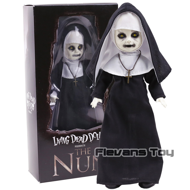цена на Mezco Living Dead Dolls The Conjuring - The Nun 10inch Doll - Horror Movie Collectible Figure Toy