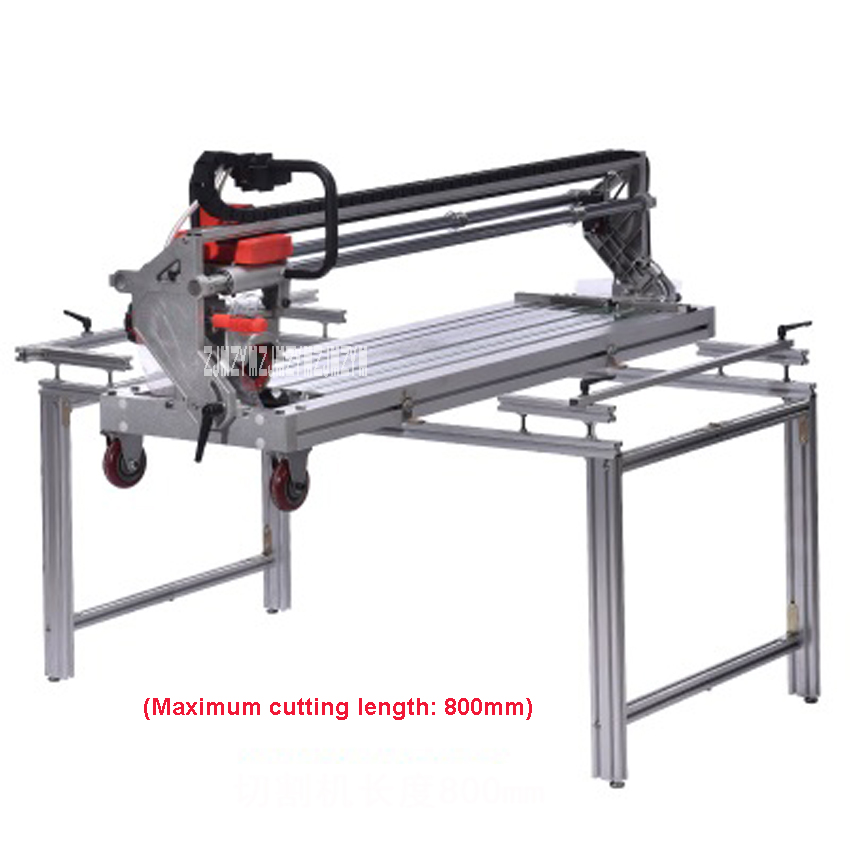 New Multi-function Fully Automatic Tile Cutting Machine 45 Degree Chamfer Desktop Ceramic Tile Saw Cutter 220V 2300W 13000r/min