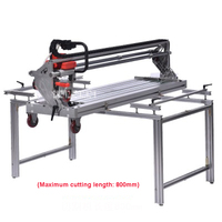 New Multi function Fully Automatic Tile Cutting Machine 45 Degree Chamfer Desktop Ceramic Tile Saw Cutter 220V 2300W 13000r/min