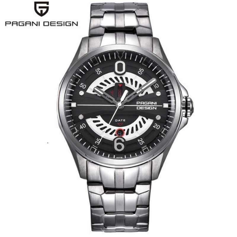 Pagani design font b luxury b font men s font b watch b font sports steel