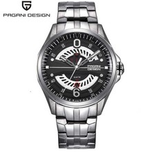 Pagani design luxury men's watch sports steel quartz hollow military watch army waterproof multi-function watch quartz movement