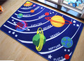 Mais novo de Nove Planetas do Sistema Solar Esteira do Jogo Rastejando Cobertor Jogo Montessori Materiais Portátil Baby Kid Infantil Tapete Tapetes Brinquedos