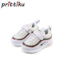 2120aa27 Primavera 2018 Baby Toddler Niños Niñas moda sneakers pequeño grande blanco  rosa negro entrenadores marca niños