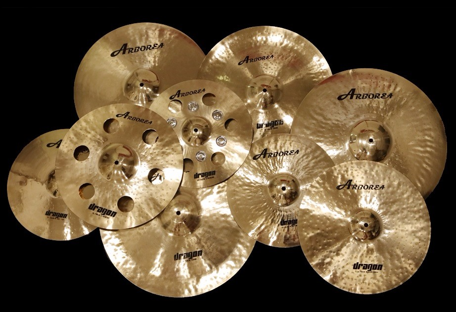 "Dragon series  10"" Splash-in Gong & Cymbals from Sports & Entertainment    3"