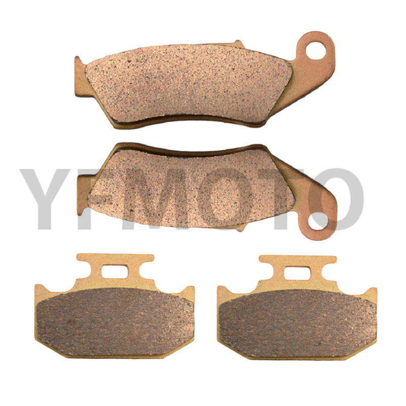 Motorcycle Front & Rear Brake Pads Kit For YZ400 YZ 400 1998   Brake Disks  motorcycle front
