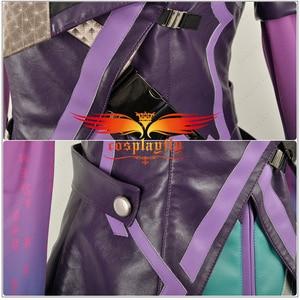 Image 4 - Game Ow Over Cosplay Kostuum Hacker Sombra Nanosuit Vrouwen Vrouwelijke Uniform Outfit Doek Voor Volwassen Partij Halloween Carnaval