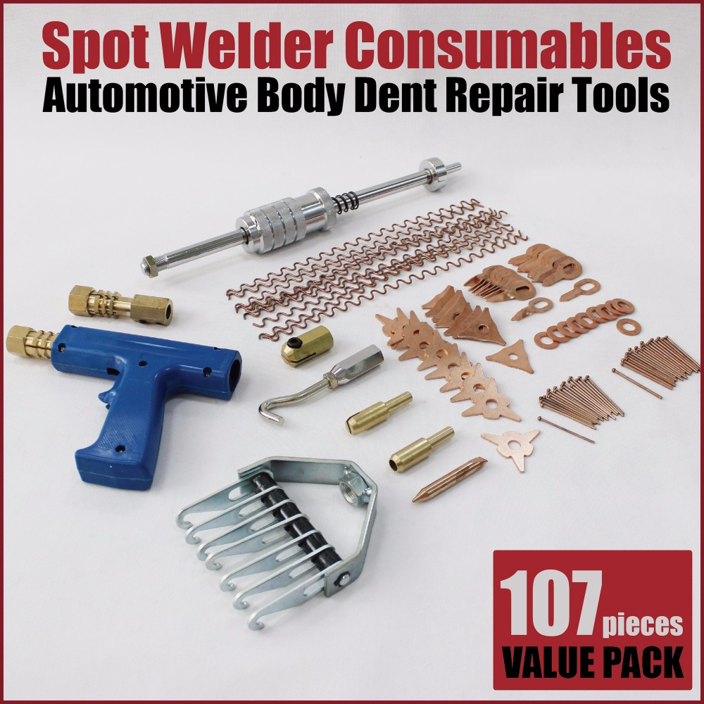 stud welder welding tool dent removal auto body repair ding puller kit dent pulling system spot welder machine equipment car