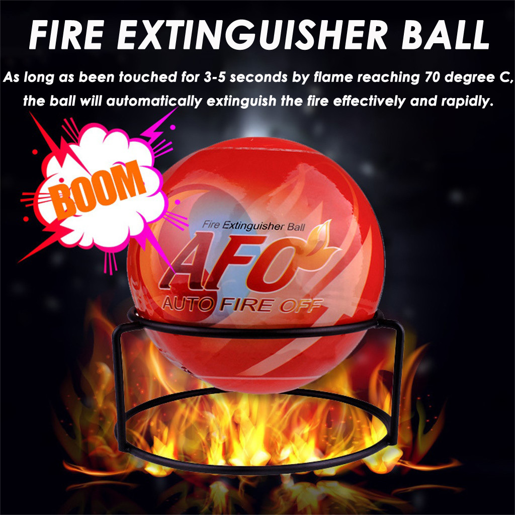 Anti-Fire-Ball Stop Fire Loss Tool Safety Non-Toxic 4.13inch Fire Extinguisher Ball Easy Throw Stop Fire Loss Tool Safety 0.5KG