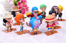 Strawhat Crew Action Figure Set [10pcs] With Boa Hancock