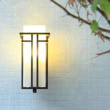 купить HAWBOIRRY LED European outdoor simple modern wall lamp villa courtyard community corridor balcony waterproof terrace lamp по цене 10454.1 рублей
