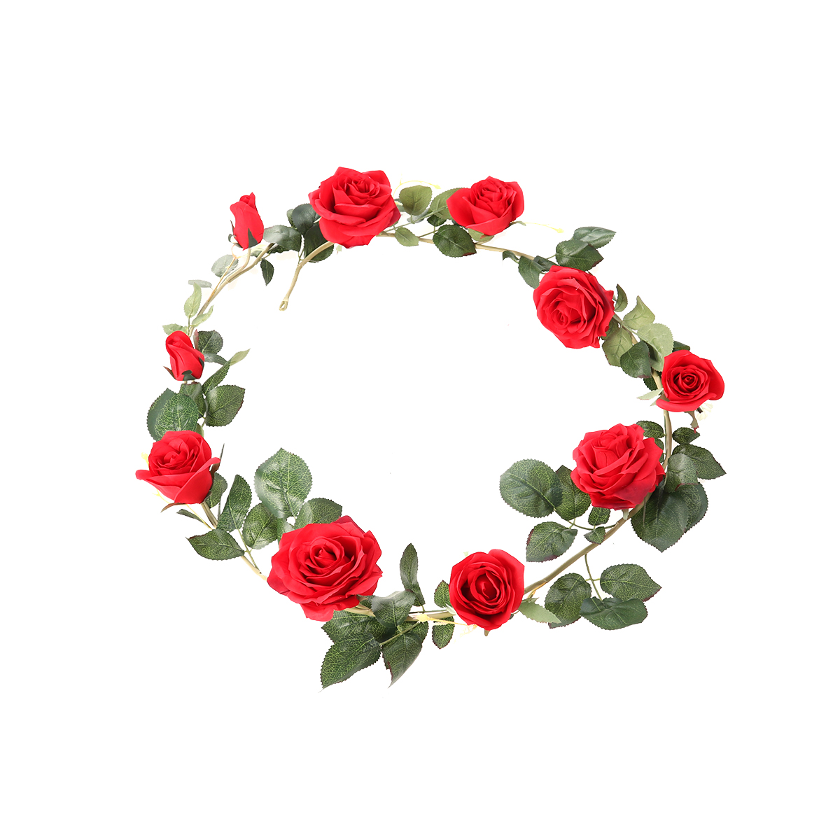 Fake Rose Vine Floral Flowers Artificial Garland Vines for Balcony Engagement Garden Wedding Party Home Decor