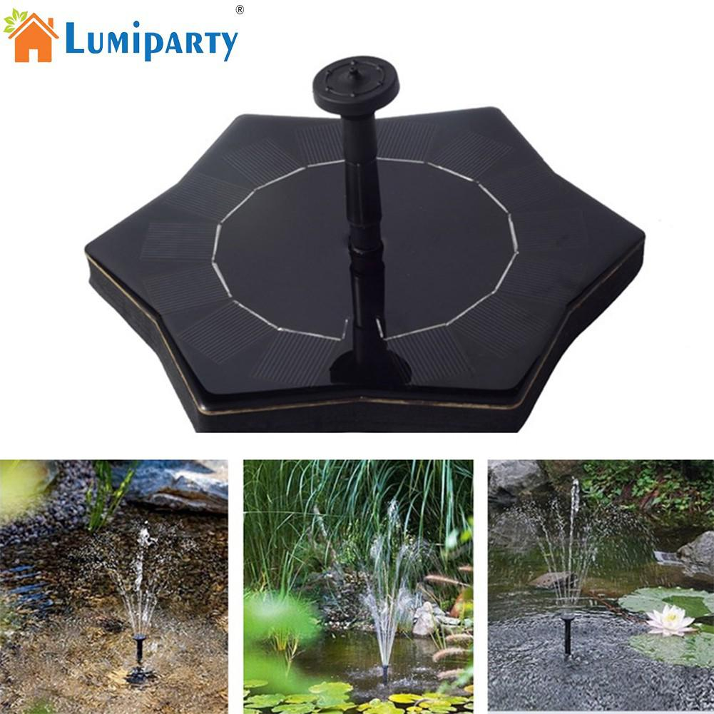 Led Lamps Lights & Lighting Trustful Lumiparty 7v/1.4w Starfish-shape Solar Power Water Floating Fountain Pump For Birdbath Pool Watering Wide Irrigation Pumps To Be Highly Praised And Appreciated By The Consuming Public