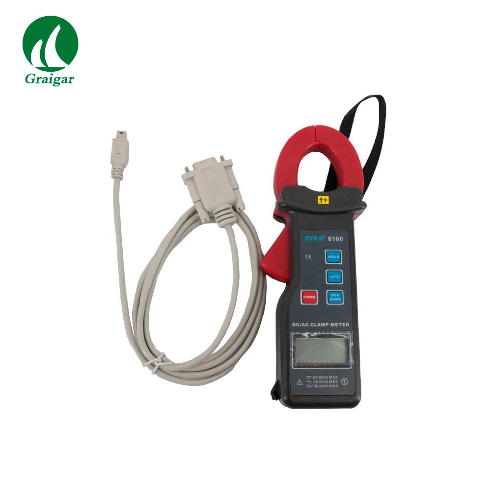 ETCR6100 AC/DC клещи для контроля на линии