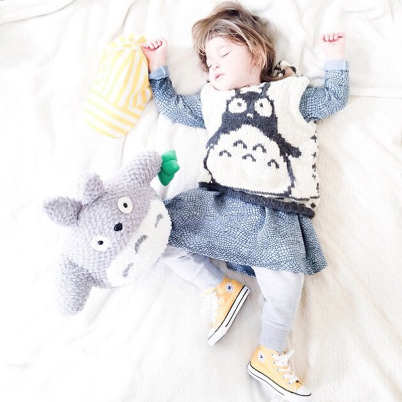 Free Shipping New Baby Children Clothing thick Knitted pullover vest Sweater Tops Blouses