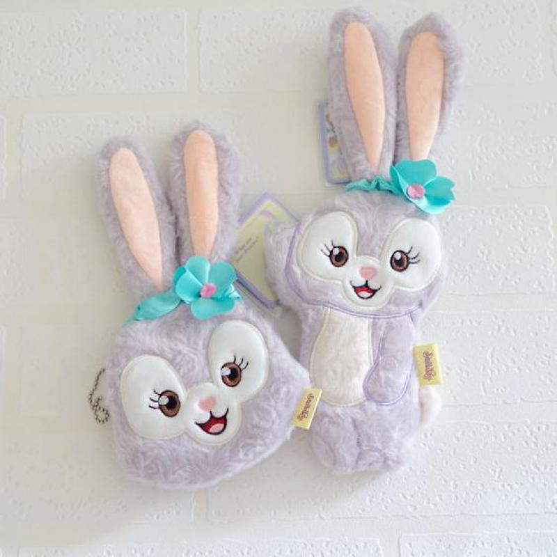 Kawaii Stellalou Bunny Rabbit Plush Bag A Friend of Duffy Bear Stuffed Animal Bags Pendant Plush Zero Purse For Kids Girls Gifts каталки pilsan bunny friend