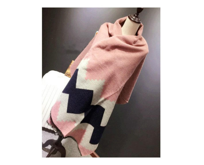 Rhombus lattice Christmas Winter   scarf     wraps   Imitation Cashmere pashmina women scarfs thick Dual shawl hijab poncho for ladies
