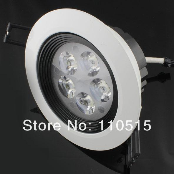 15W 5x3W AC110V 220V Cool Warm White LED Downlight Recessed Light LED Ceiling Lamp For Home Foyer Indoor Lighting Showcase Lamps