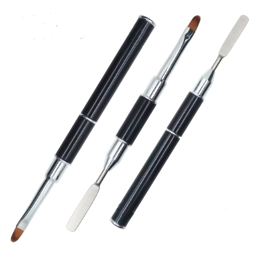 Modelones 1pcs Nail Art Brush Pens Nail Brushes UV Gel Nail Polish Painting Drawing Brushes Manicure Tools Nail Art Design Brush