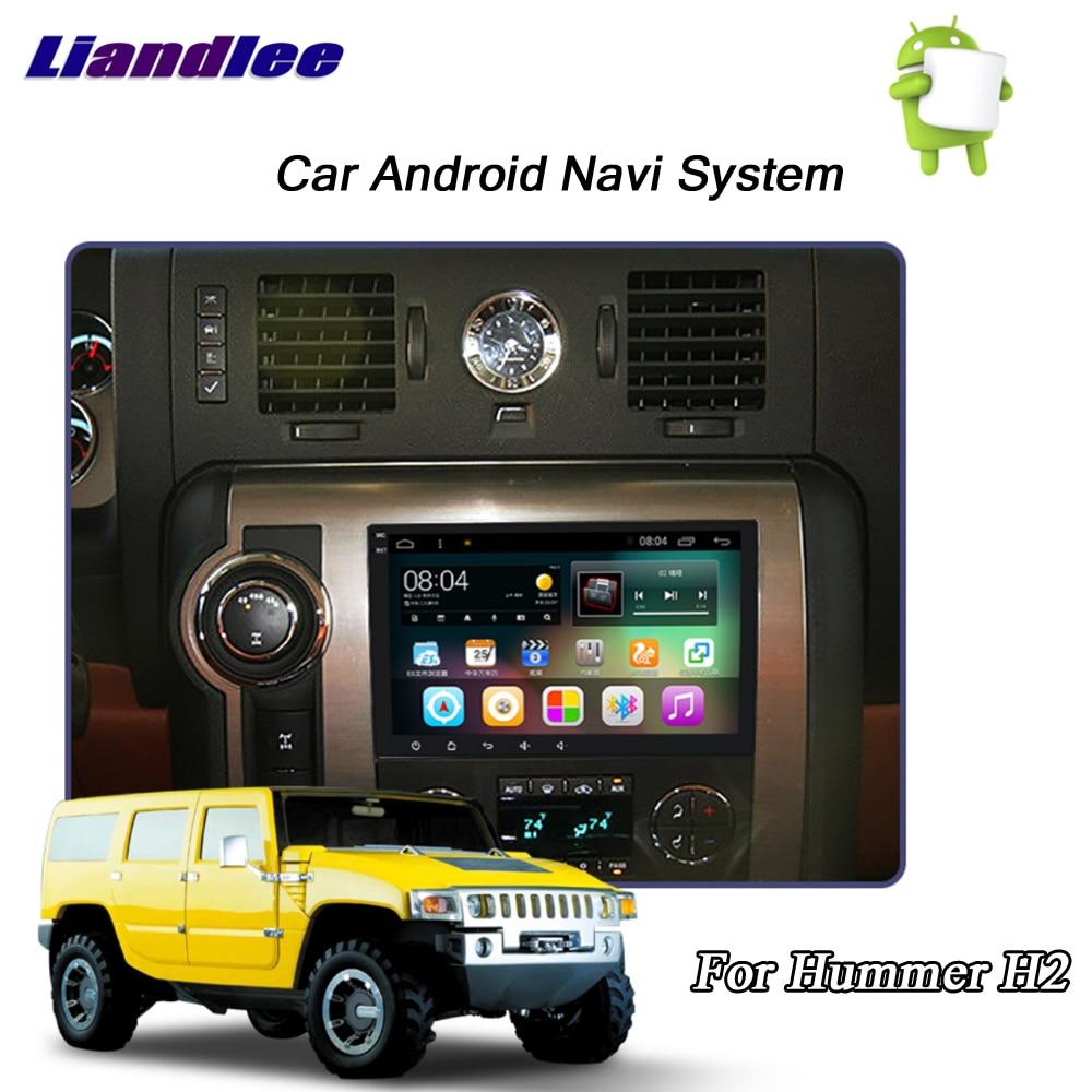купить Liandlee Car Android System For Hummer H2 2008~2011 Radio Video Stereo Carplay DAB+ GPS Wifi BT Navi MAP Navigation Multimedia по цене 25091.08 рублей