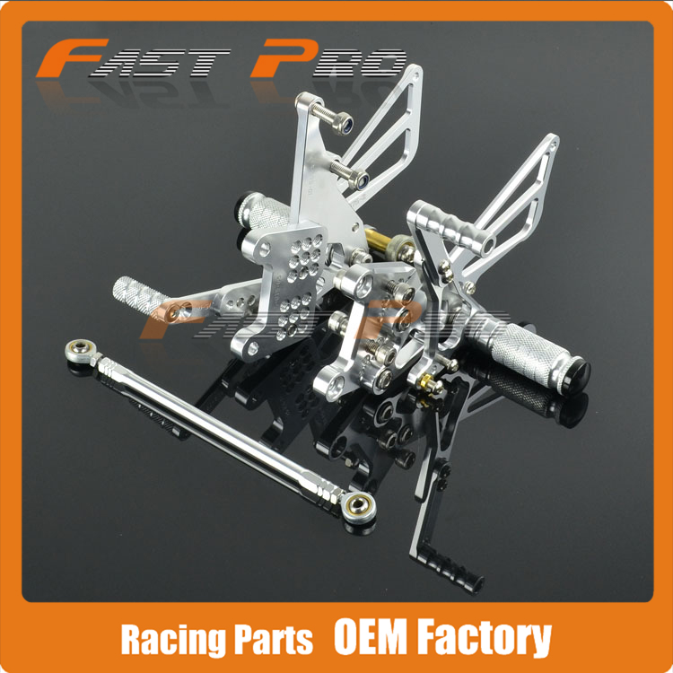 CNC Motorcycle Adjustable Billet Foot Pegs Pedals Rest For TRIUMPH 595 2pcs bicycle plastic wheel pedals axle foot pegs