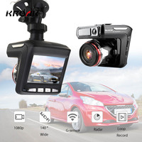 3 in 1 Car DVR Full HD 1080P Radar Detector Camera GPS 140 Degree Angle Car Video Recorder Dash Cam 2.4'' LCD Driving Recording