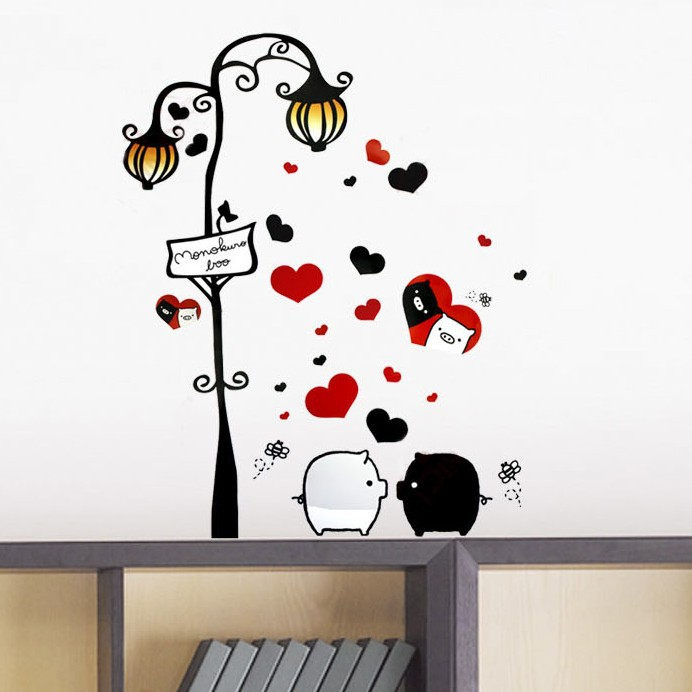Love Hearts Children/'s Kid/'s High Quality Vinyl Wall Art Stickers 50cm x 70cm