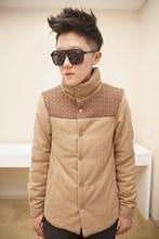Куртка хлопок — мягкий, les т ватные пряжа пэчворк верхняя одежда 1599-my05-90 стойка