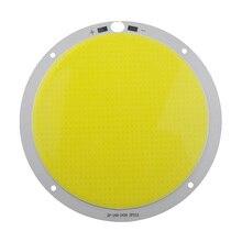 """סיבוב סופר מבריק 300 W COB LED לבן רצועת אור PCB DC72V שבב מקור מנורת 160 מ""""מ 4000ma עבור DIY פרויקט תאורת זרקור 1 pc"""
