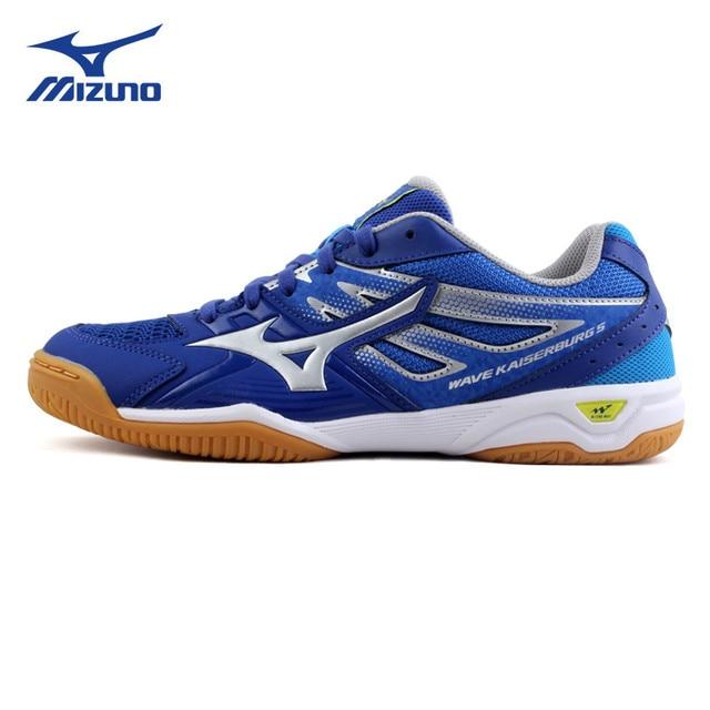 7daa49e5a1 2018 MIZUNO WAVE KAISERBURG 5 table tennis shoes for men women comfort  light breathable sports sneakers 81GA182003