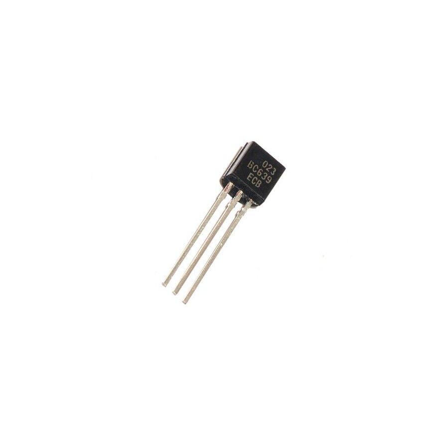 20PCS BC639 Transistor NPN 80V 1A 0,8W TO-92 NEW