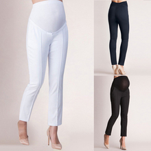 5ad60a70147b Oeak Maternity Trousers Loose Stretch Women's Casual Pants Elastic Belly  Protection Maternity Pregnant Pencil Pants Slim