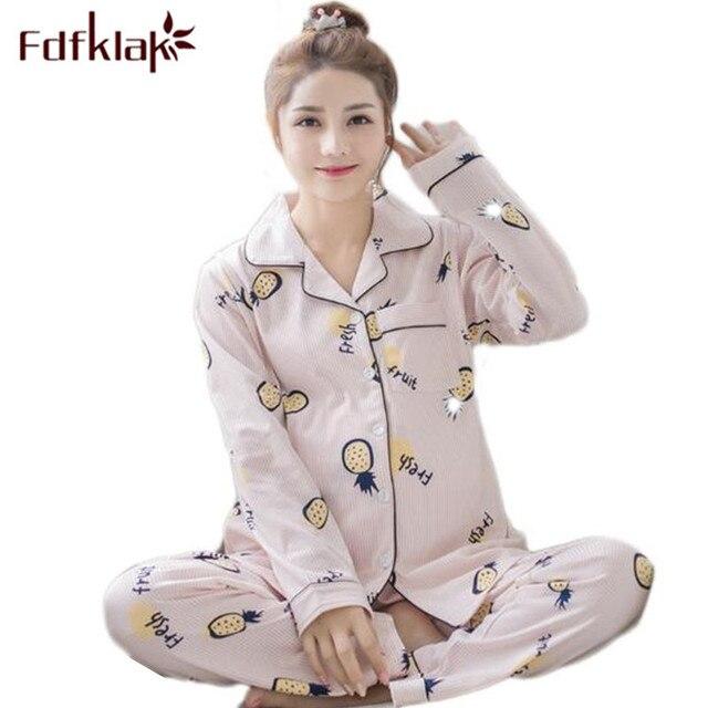 30753e31133 Fdfklak Spring Autumn Long Sleeve Maternity Pyjamas Cotton Nursing Pijama  Pregnancy Pajamas Maternity Nursing Pajamas L