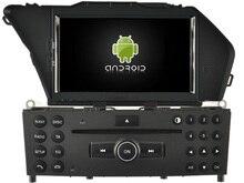 Android 7.1.1 2 ГБ ОЗУ dvd-аудио-плеер для Mercedes Benz GLK X204 2008-2010 стерео Авто головы блок магнитофон 3 г BT WI-FI