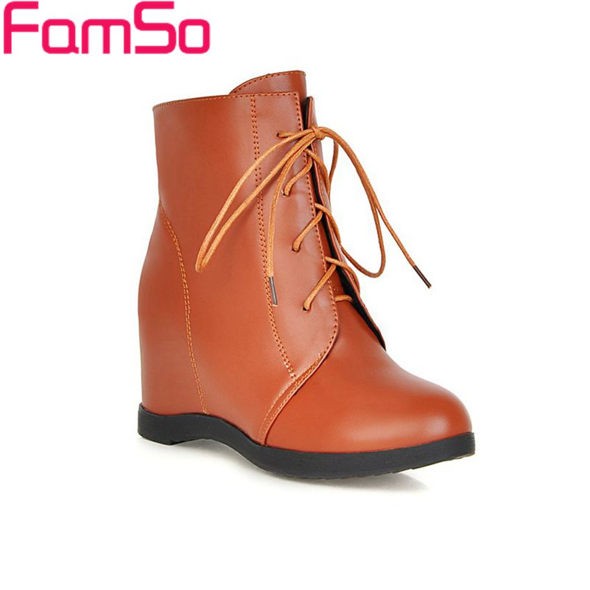 Free shipping 2016 new Sexy font b Women b font Boots Wedges Pumps Autumn Riding Boots