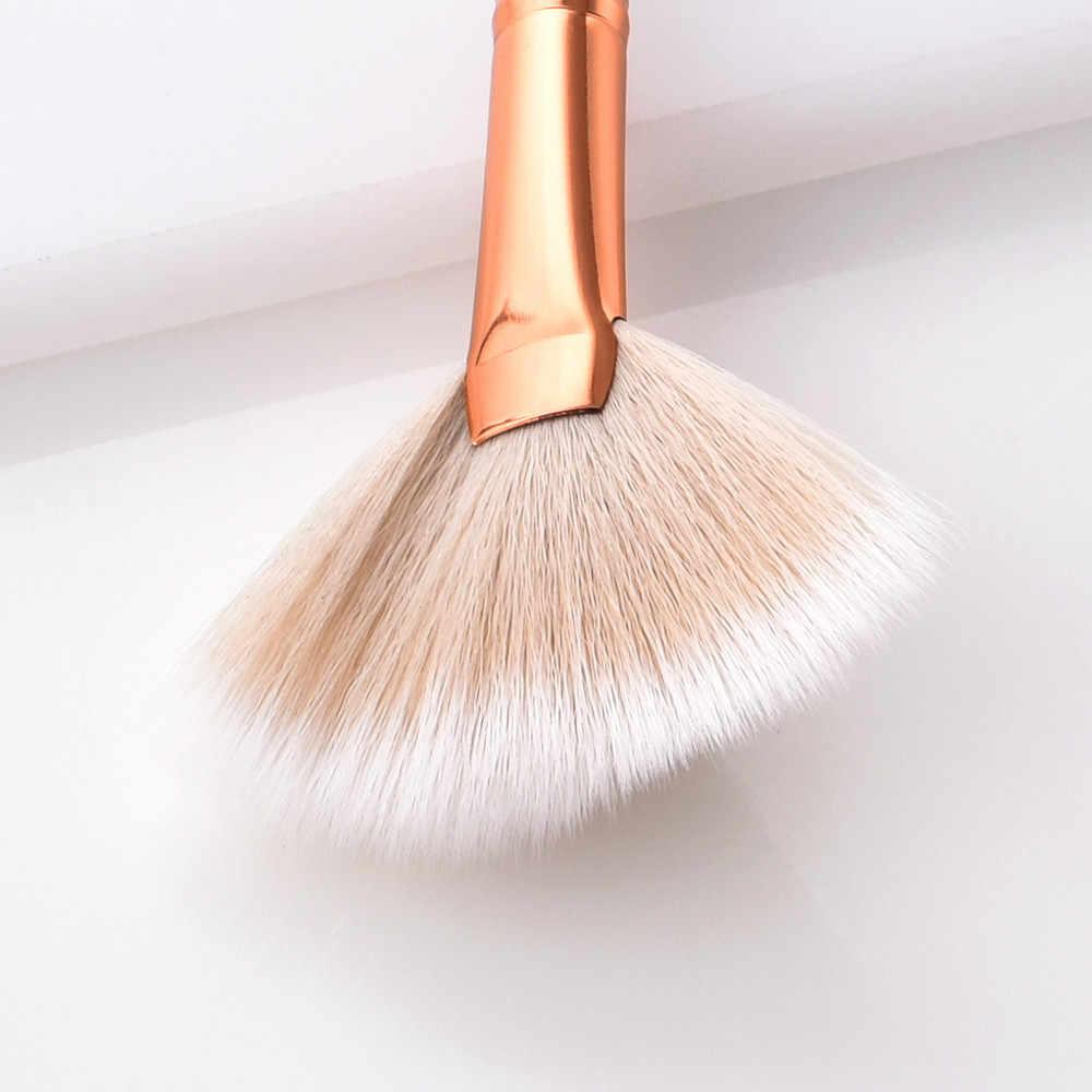 2018 חדש אופנה מברשות Pro איפור מברשות סט קרן אבקת צלליות אייליינר שפתיים מברשת כלי Pincel Maquiagem