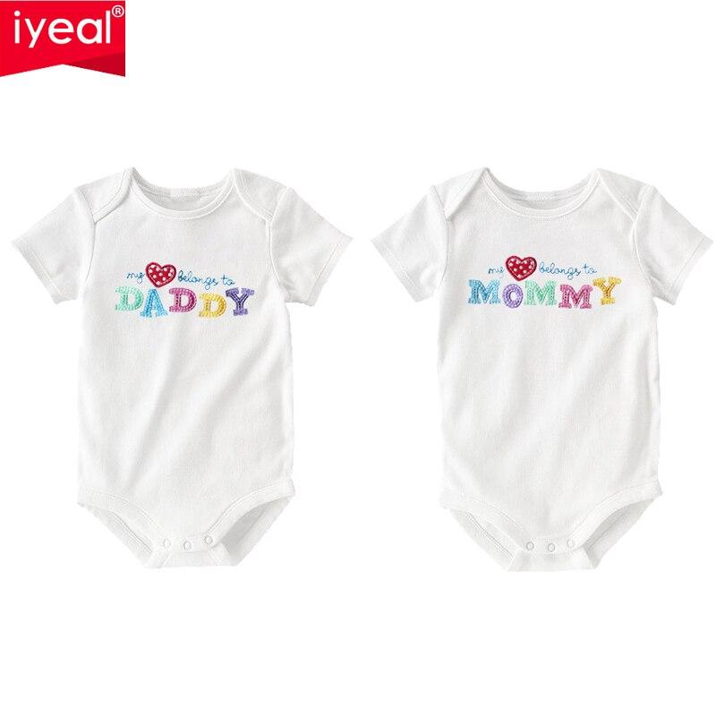 2шт/набор Carters одежда для новорожденных младенцов с длинными рукавами комбинезоны и костюмы для девочек и мальчиков